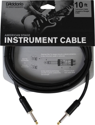 PW-AMSG-10 i gruppen Kabler / Planet Waves / Instrument Cables / American Stage Series hos Crafton Musik AB (370700457050)