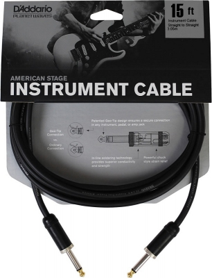 PW-AMSG-15 i gruppen Kabler / Planet Waves / Instrument Cables / American Stage Series hos Crafton Musik AB (370700467050)